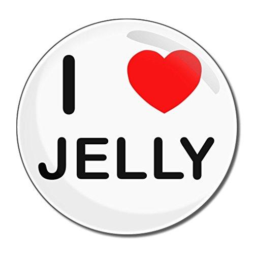 I Love Jelly - Miroir compact rond de 55 mm