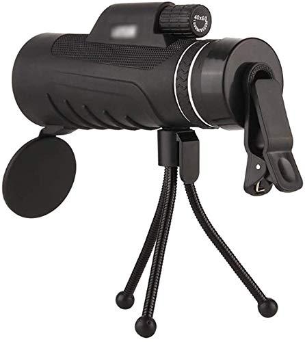 StAuoPK Hochleistungs-High-Profile-Teleskop, Nachtsicht im Freien Spielraum Concert Teleskop, beweglichen Handy-Teleskop mit für Astronomie Steht