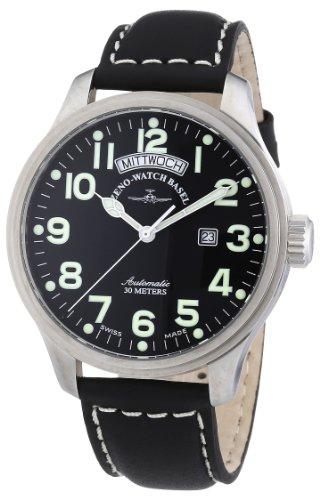 Zeno Watch Basel Pilot Oversized 8554DD-12-a1- Orologio da uomo