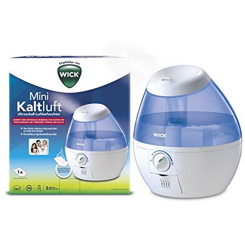 Wick Kompakter Kaltnebel-Luftbefeuchter, ideal für Kinderzimmer