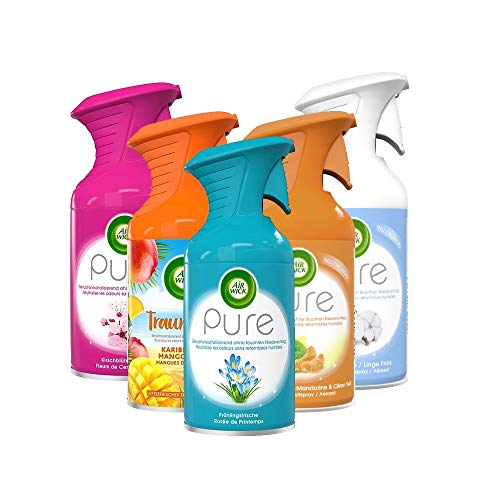 Air Wick Premium-Duftspray PURE Mixpack (5 x 250ml)