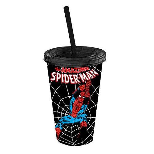Spiderman Swings Noir Coupe Voyage plastique