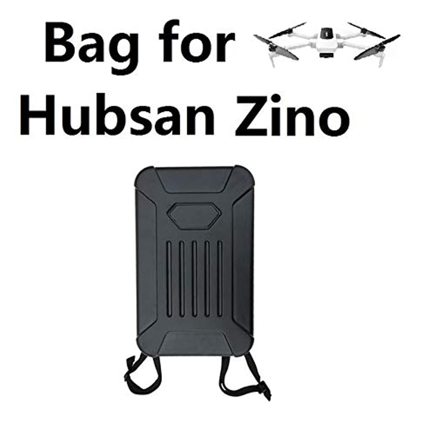 Faironly Zino Shoulder Bag Hard Shell Backpack Storage Bag for Hubsan X4 Zino H117S as Shown