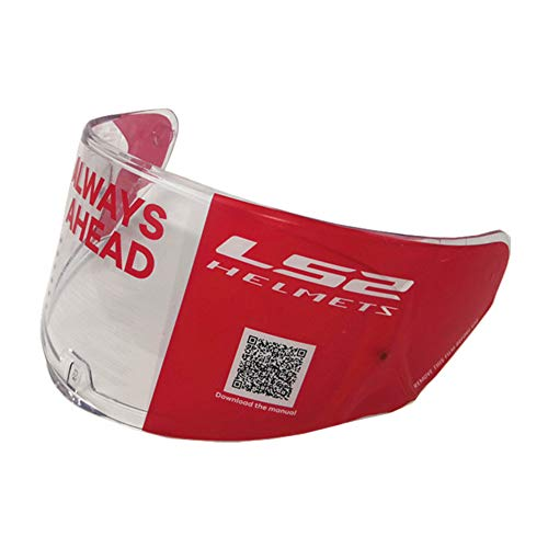 LS2 FF328 FF353 Helmet Visor Rapid Stream Model Face Shield FF320 Casco Pinlock Visera (Clear)