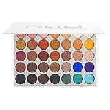 ZIEM Paleta de Sombras de Ojos de 35 Colores Kit de Maquillaje cosmético Brillo Mate Sombra de Ojos Resaltadores Sombra de Ojos de Alto Pigmento Plattet n Colorido Cosmético para Ojos Todo en