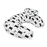 SZFYZCY Stillkissen U-Form Kissen Confinement Taille Unterstützung Horizontal Baby Baby Antiemesis Milch Feeding Artifact Faul Liegen Side Kissen,F
