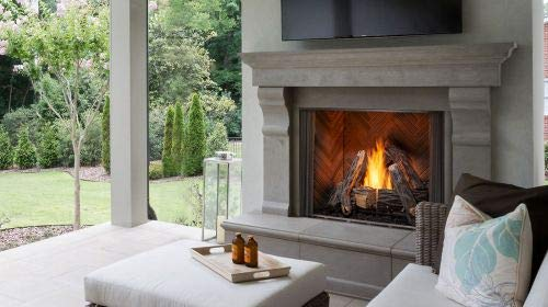 Great Features Of Monessen 42 Courtyard PH Interior Trad. NG Fireplace w/SS Grate and SD Logs