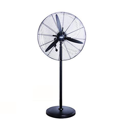 HGNA-Kühl&Heizsystem Großer Luftkühler Industrieller Bodenventilator, Hochleistungsventilator, DREI Geschwindigkeiten, DREI Größen der Energie (180W, 230W, 280W) Schwarzes (Size : 142cm)