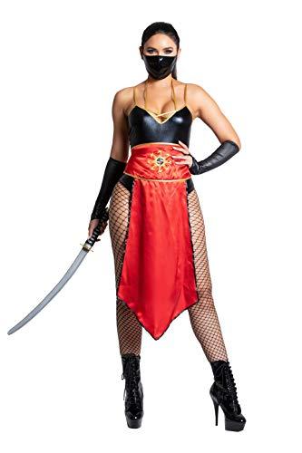 Yandy Exclusive Sexy Darkness Assasin Cosplay Warrior Ninja Costume Small Black
