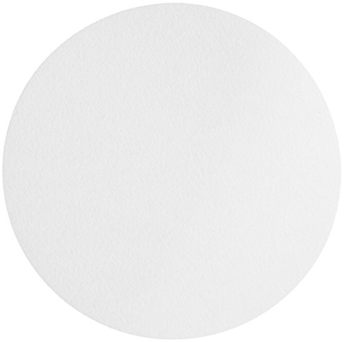 Whatman 1004-240 Quantitative Filter Paper Circles, 20-25 Micron, 3.7 s/100mL/sq inch Flow Rate, Grade 4, 240mm Diameter (Pack of 100)