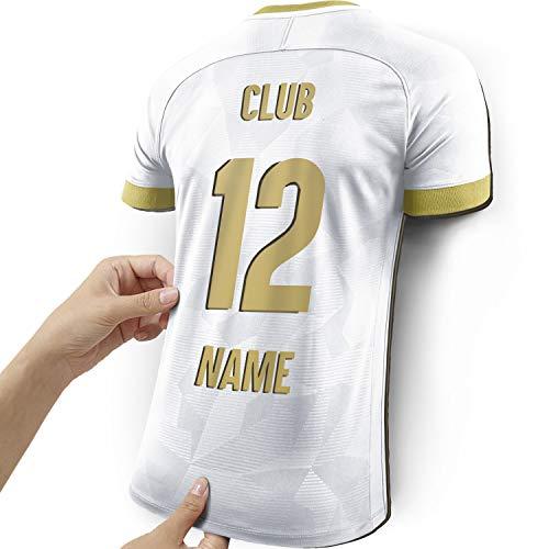 Elbeffekt Lámpara de Camiseta para los Fans del Madrid Hecha de Madera - Regalo Personalizable - Regale su artículo Individual para Fans del Madrid Hecho de Madera Real