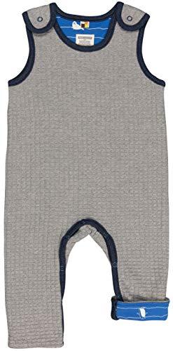 loud + proud Baby-Unisex Wendestrampler Strick Aus Bio Baumwolle, GOTS Zertifiziert Strampler, Grau (Grey Gr), 68 (Herstellergröße: 62/68)