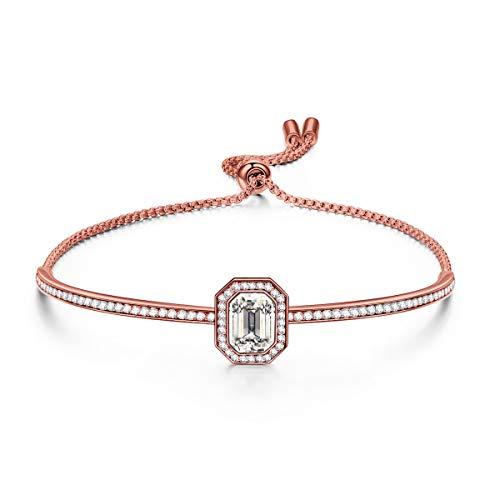 Susan Y Damen Armband, Sommernachtstraum Damen Schmuck, Kristalle Armreif, Elegante Geschenkbox, Geschenke für Sie Frauen Mädchen