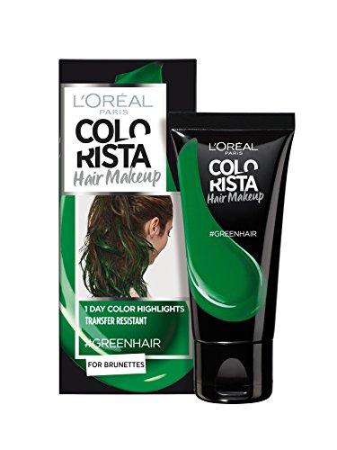 L'Oréal Paris - Colorista Hair Makeup - Colorazione per capelli, colorazione temporanea, per brunette, 30 ml, lotto di 2