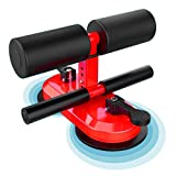 Multifunction Sit Up Bar,Portable Sit Up Assistant Equipment,Upgraded 2 Suction Cups and 4...