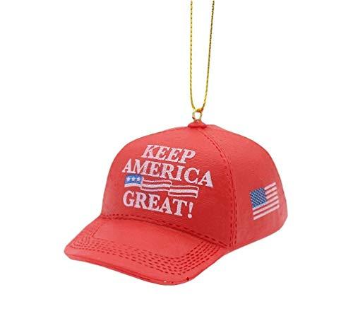 KSA Donald Trump Keep America Great Red Cap Ornament