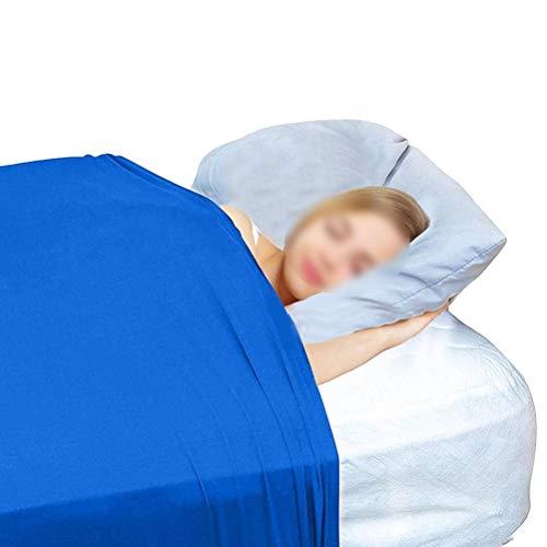 CHICTI Sensorischen Bett Blatt Sensory Kompressionsdecke Für Kinder Und Erwachsene Gewichtsdecke Alternativ Kühl Dehnbar Atmungsaktiv (Size : 69x132cm/27x52in)