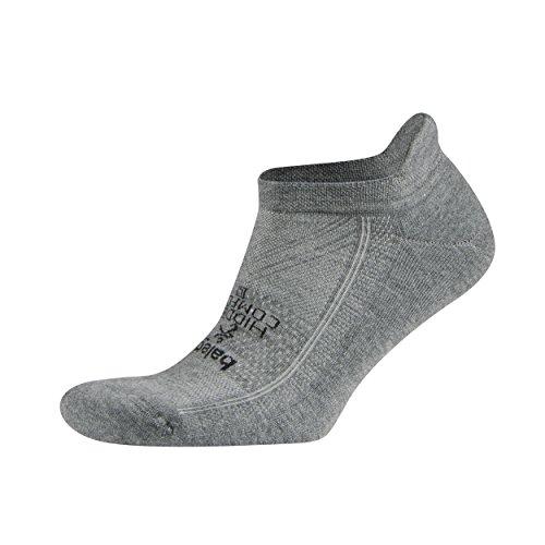 Balega Hidden Comfort No-Show Running Socks for Men and Women (1 Pair), Charcoal, Large