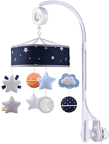 Baby Crib Mobile Rattle 0-12 Months Max 50% OFF Luxury Rotating Infa Bed Music Bell