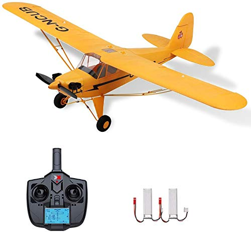 Goolsky Wltoys RC Plane 5 Channel Brushless Remote Control Airplane for Adults Stunt Flying 3D 6G Mode Upside Down RC Aircraft A160