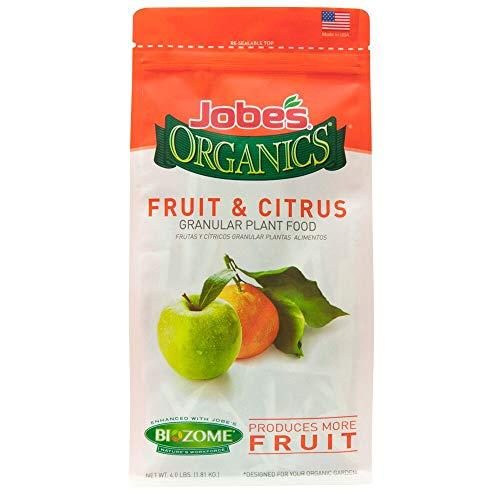 Jobe's Organics 09226 FBA_B0030EK5JE Fruit & Citrus Fertilizer with Biozome