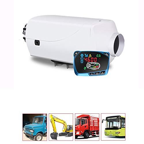 Calentador de Aire Diesel de Estacionamiento 5000W con Controlador LCD para Tanque de Ventilación del Conducto Termostato de Caravana General 12V 24V 5KW Universal,12V