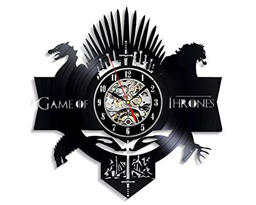 Levesdecor - Game of Thrones Vinyl Wall Clock