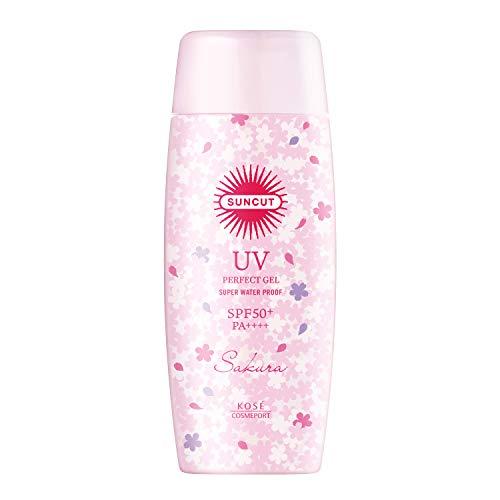 サンカット KOSE 日焼け止め パーフェクト UV ジェル SPF50+ PA++++ ウォータープルーフ 桜の香り 100g