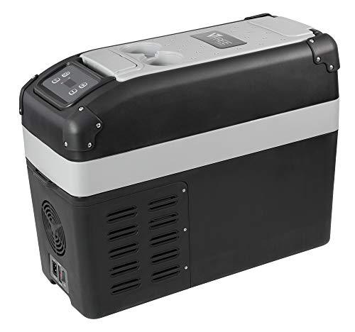 Vitrifrigo VF16P nevera portátil serie Vfree de 16 litros, color gris claro/oscuro
