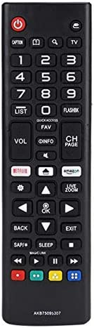 Charlotte Mall New Replaced Remote Selling Control AKB75095307 for Compatible LED LG LC