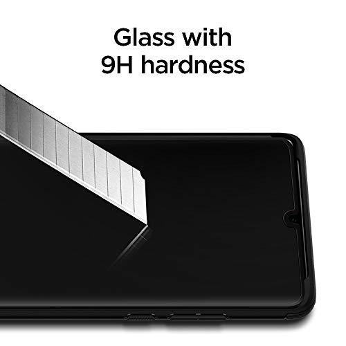 Spigen Vetro Temperato Compatibile con Huawei P30 PRO, Copertura Totale, Resistente ai Graffi, Durezza 9H Pellicola prottetiva