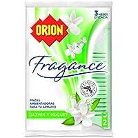 Orion - Pinzas Ambientadoras Antipolillas Aroma Jazmin y Muguet - 2 unidades