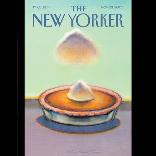 The New Yorker, November 23, 2009 (John Colapinto, Evan Osnos, Calvin Trillin) cover art