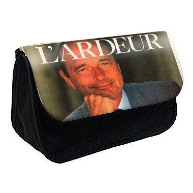 Youdesign - Trousse à crayons/maquillage personnalisée jacques chirac -73 - Ref: 73