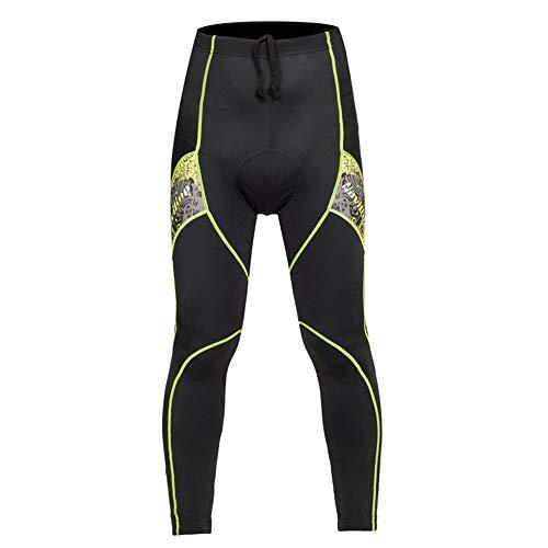 Herren-Fahrradhose Sport Herrenreitstrumpfhose Dicke Leggings Shorts Reiterhose für Radfahrer Reitbekleidung (Color : Red, Size : S)