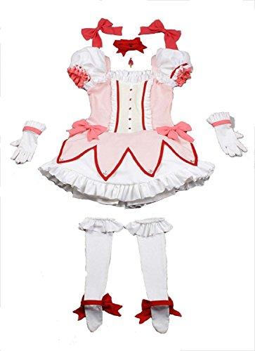 『MilicaBooks 魔法少女まどか☆マギカ 鹿目まどか ウィッグセット Mサイズ ソウルジェム付 コスプレ 衣装』の5枚目の画像