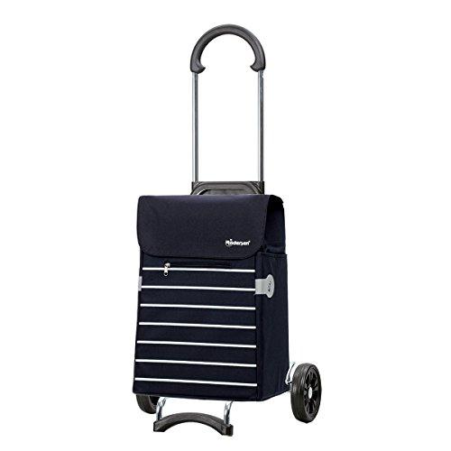 Andersen Shopper Scala mit Tasche Lini blau 34 Liter