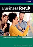 Business Result: Pre-intermediate. Student's Book with Online Practice: Business English You Can Take to Work Today (Business Result Second Edition) - David Grant