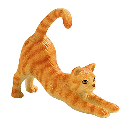 Bullyland - 66361 - Pion - Chat Domestique roux