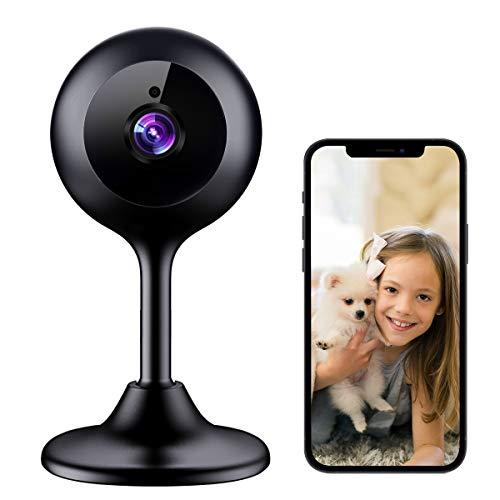 MECO – Cámara IP 1080P HD con visión nocturna, detección de sonido y movimiento
