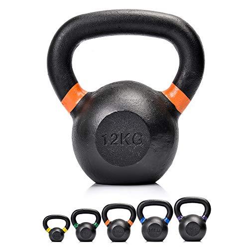 Pesas Rusas Kettlebell Hierro Fundido - Entrenamiento Fitness Pilates