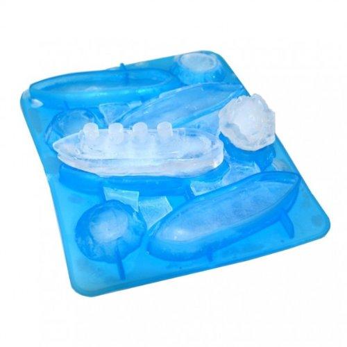 Stampo per cubetti di ghiaccio Titanic Gin & Titonic Ice Cube Tray