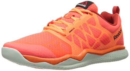 Reebok Herren Zprint Train, Atomic Red/Electric Peach/Motor Red/Opal/Black, 39 EU