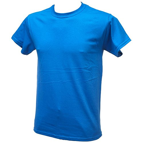 First price - Heavy bleu roy mc coton - Tee shirt manches courtes - Bleu moyen - Taille L