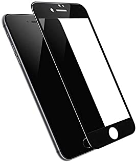 Full Cover Edge to Edge Tempered Glass Screen Protector for iPhone SE 2020 - BLaCK