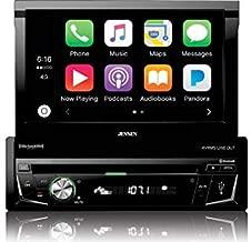Jensen VX4014 7-Inch 1 DIN DVD CarPlay Receiver