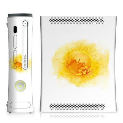 DeinDesign Skin kompatibel mit Microsoft Xbox 360 Aufkleber Folie Sticker Yoga Sport Hobby