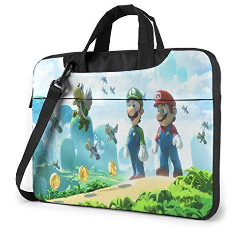 13 Inch Laptop Bag Mario Slim Computer Messenger Shoulder Briefcase Shoulder Messenger Bag Case Sleeve, Laptop Sleeve Travel Bag for Game Players