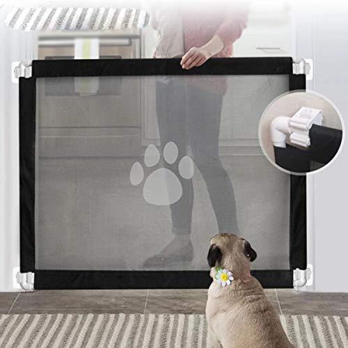 AZLLY huisdier isolatie hek net draagbare vouwen huisdier veiligheid poort huisdier veiligheid behuizing installeren overal geschikt voor keuken trap baby kamer deur veranda