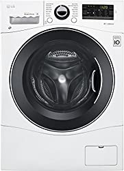 in budget affordable LG WM3488HW Washer and dryer combination 24 inches, volume 2.3 cubic meters. ft, white stainless steel drum